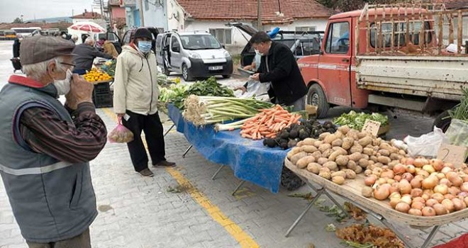 KIRKA'YA YENİ PAZAR YERİ