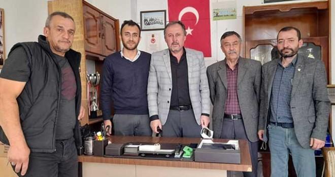 EASKF YÖNETİMİ OKLUBAL'I ZİYARET ETTİ