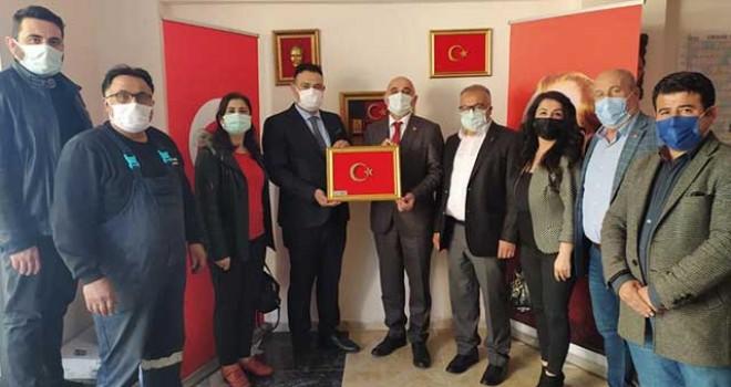 MHP VE CHP'DEN ÇEL-DER'E ZİYARET