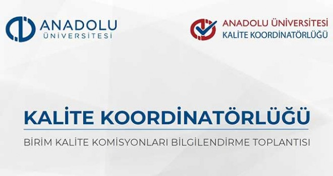 KALİTE TOPLANTILARI BAŞLADI