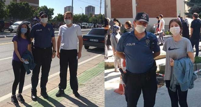POLİS, GENÇLERİ SINAVA YETİŞTİRDİ