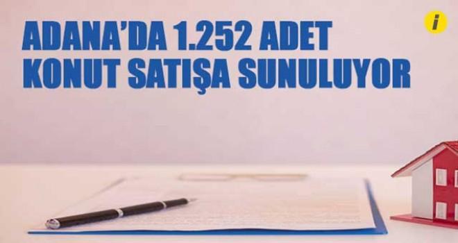 BİN 252 ADET KONUTU SATIŞA SUNDU