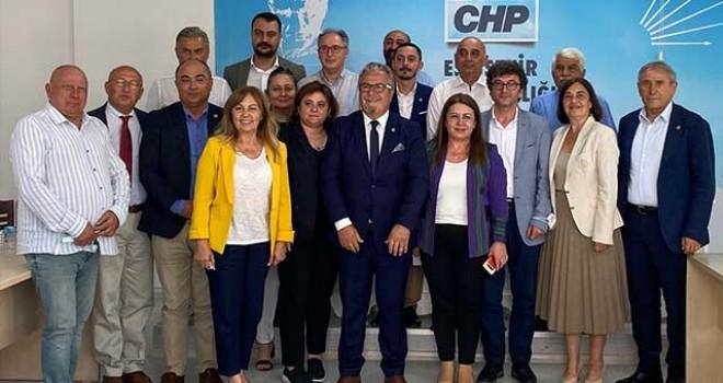 CHP'LİLER KHK'LILAR İLE BULUŞTU