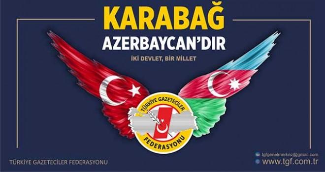 TGF: KARABAĞ AZERBAYCAN'DIR