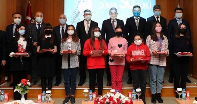 """""""SUYUN DEĞERİ"""" YARIŞMASININ ÖDÜLLERİ SAHİPLERİNİ BULDU"""