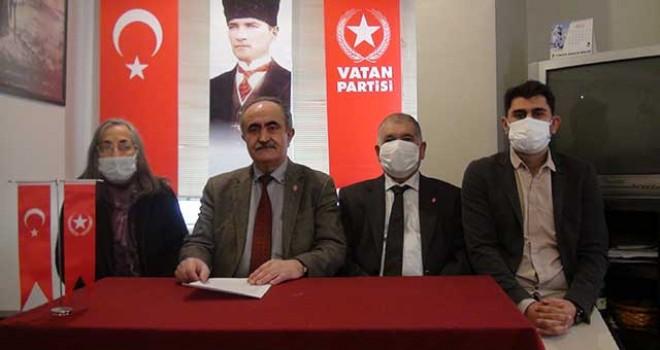 VATAN PARTİSİ'NDEN SERT TEPKİ