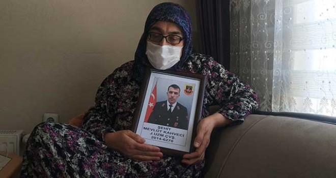 GARA ŞEHİDİNİN ANNESİ PKK'NIN İFTİRASINI YALANLADI
