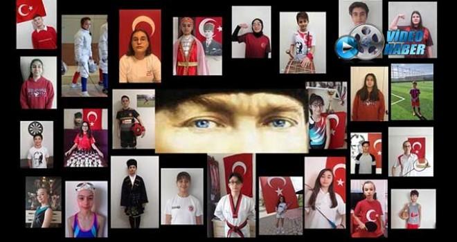 ŞAMPİYONLARDAN '19 MAYIS' VİDEOSU