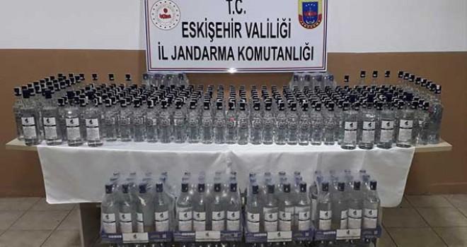 ALPU'DA KAÇAK İÇKİ OPERASYONU : 1 GÖZALTI