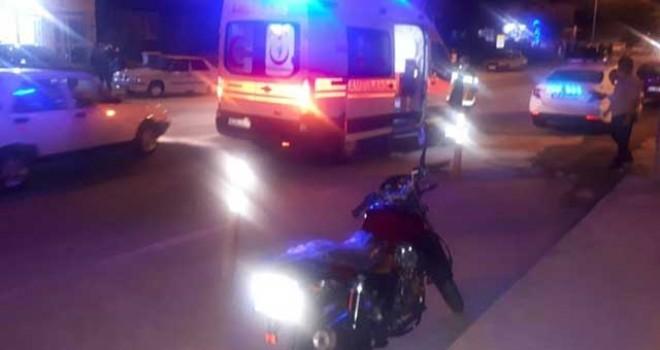 AYNI YERDE 2'İNCİ MOTOSİKLET KAZASI