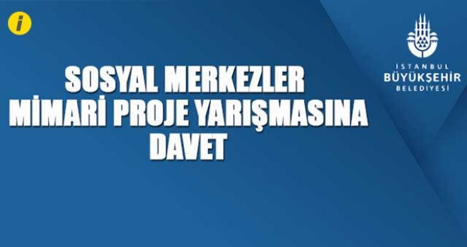 YARIŞMAYA DAVET