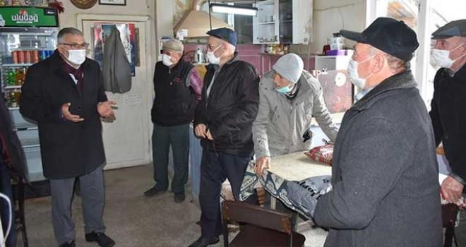 BAŞKAN BOZKURT'UN MAHALLE ZİYARETLERİ